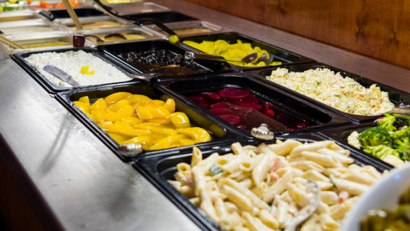 Salad Bar image #2 at Coppers