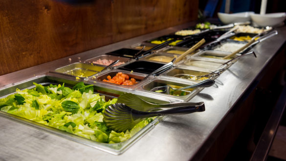 Salad Bar at Coppers